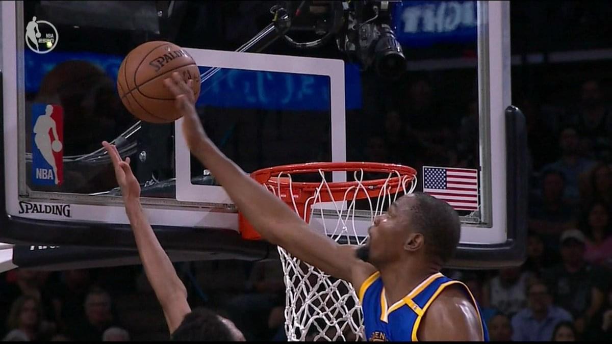 【影片】左右手連環帽!杜蘭特送追魂鍋釘板封殺對手-Haters-黑特籃球NBA新聞影片圖片分享社區