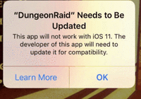 永别:苹果iOS11正式版彻底封杀32位应用