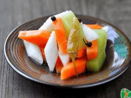 泡菜洋葱芝麻竟能排毒防便秘