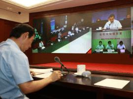 """渑池县法院 远程视频接访 便民服务""""零距离"""""""