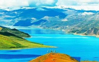 西藏圣湖——羊卓雍措