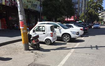 车子停在白色实线内还吃罚单?交警给出回复