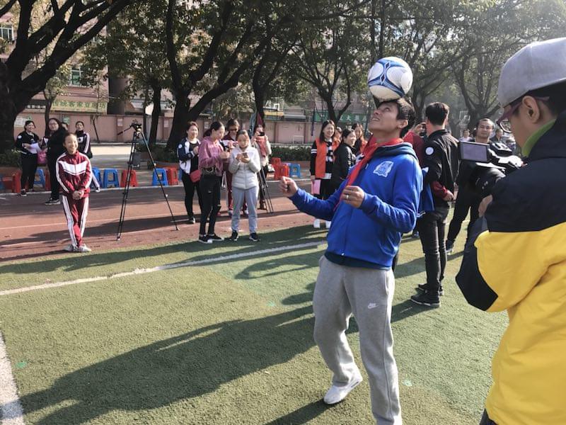 广州清湖小学嘉年华活动 让校园足球快乐到底
