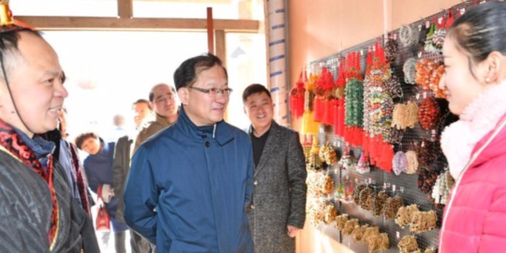 邯郸:市长王立彤调研春节文化市场