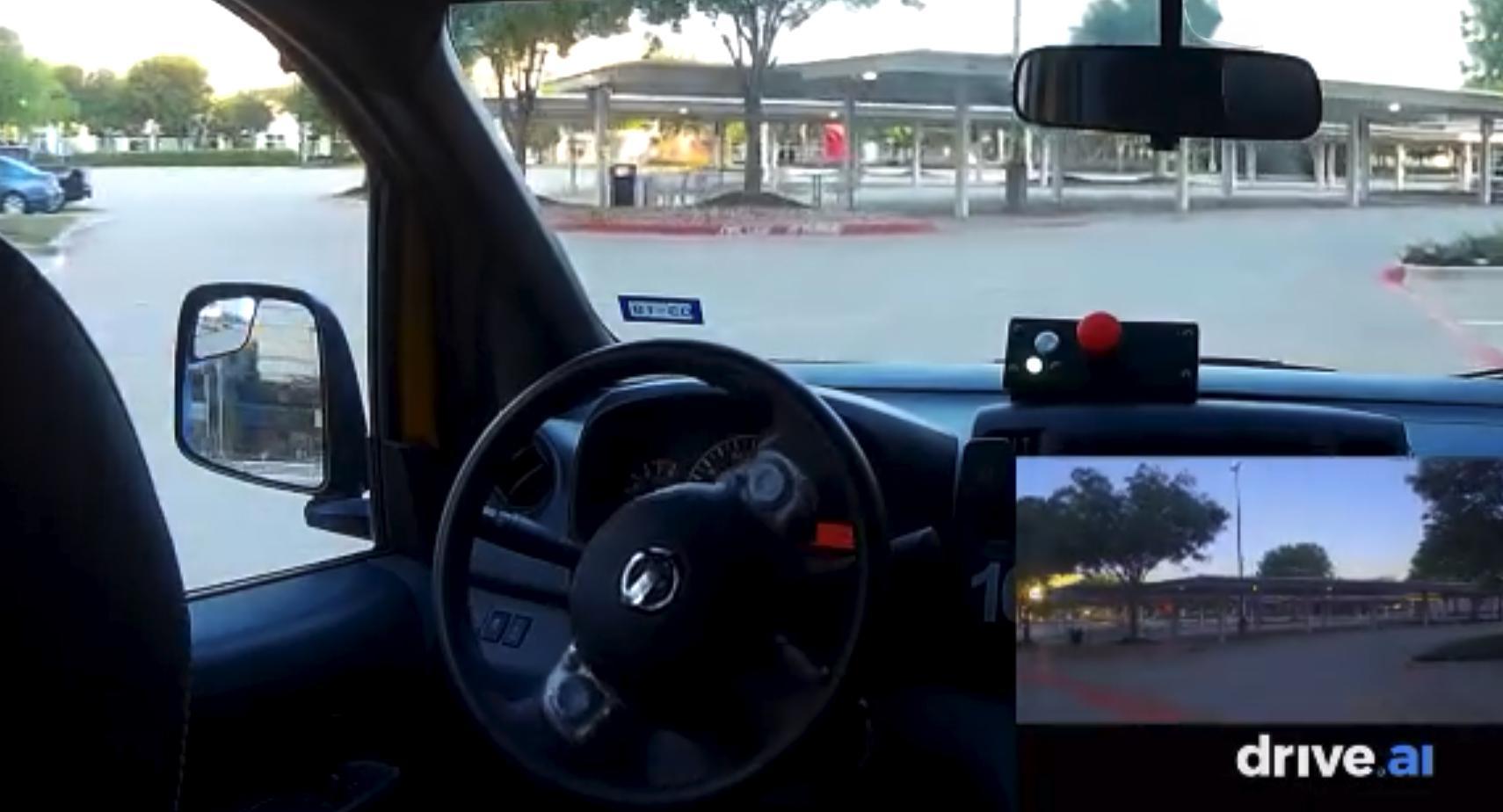 Drive.ai展示完全无人驾驶汽车上路视频