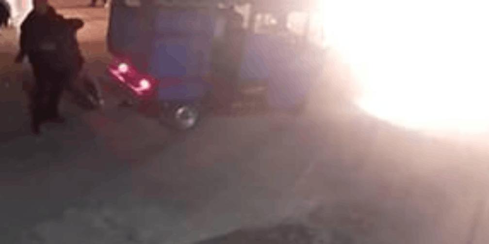 肇事司机撞倒老人怕担责 将老人弃于偏僻停车场
