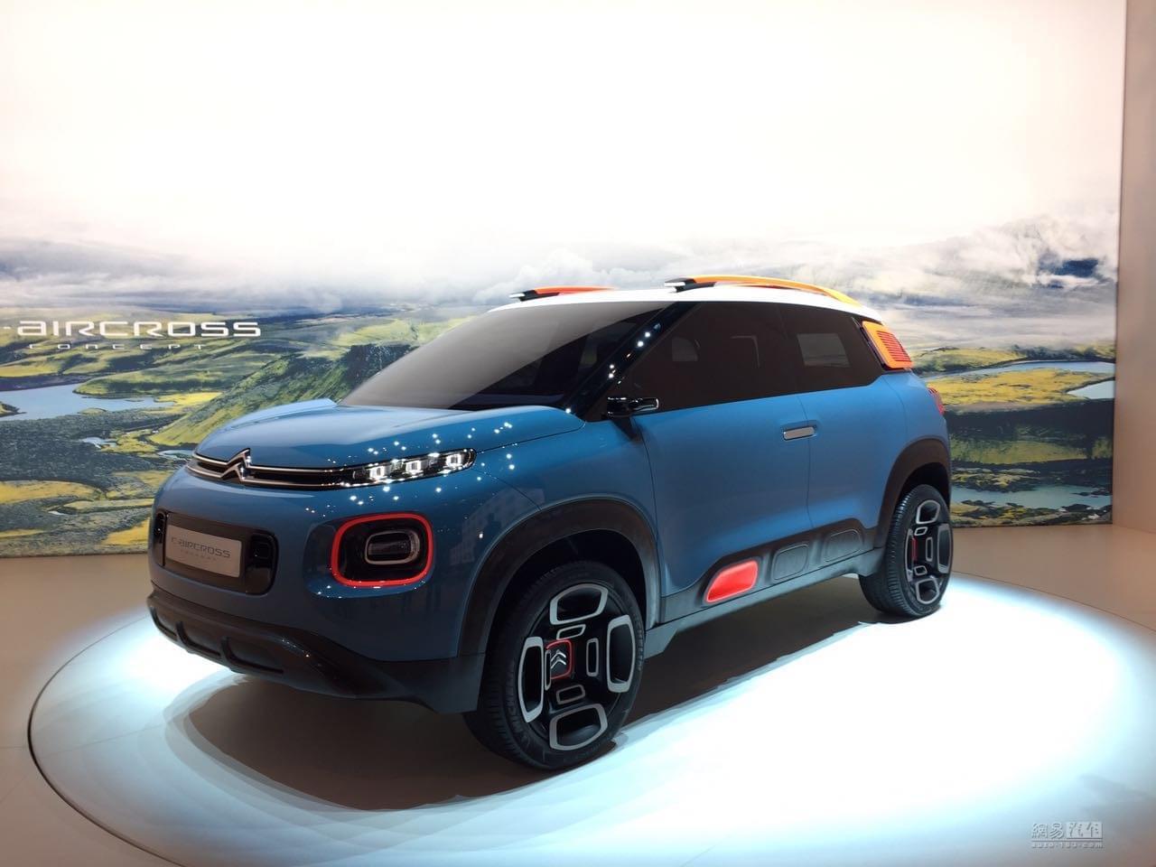 2017日内瓦车展:C-Aircross概念车发布