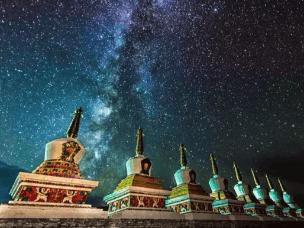 有生之年 我想和你去西藏追逐一次星空银河
