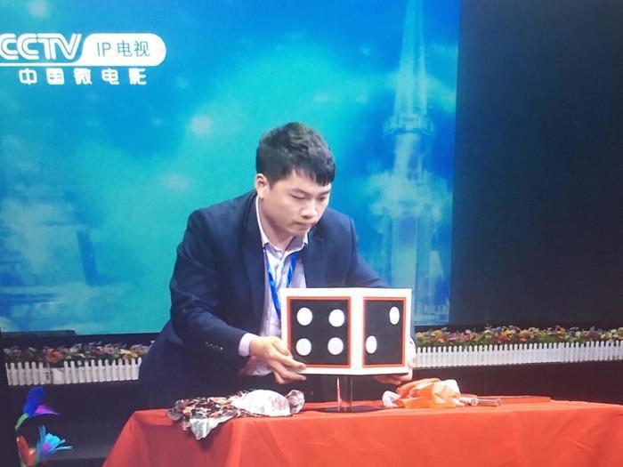 90后魔术师李孟孟 登上大众春晚演出舞台