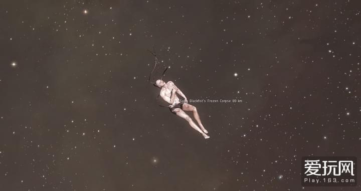 太空中漂浮的尸体