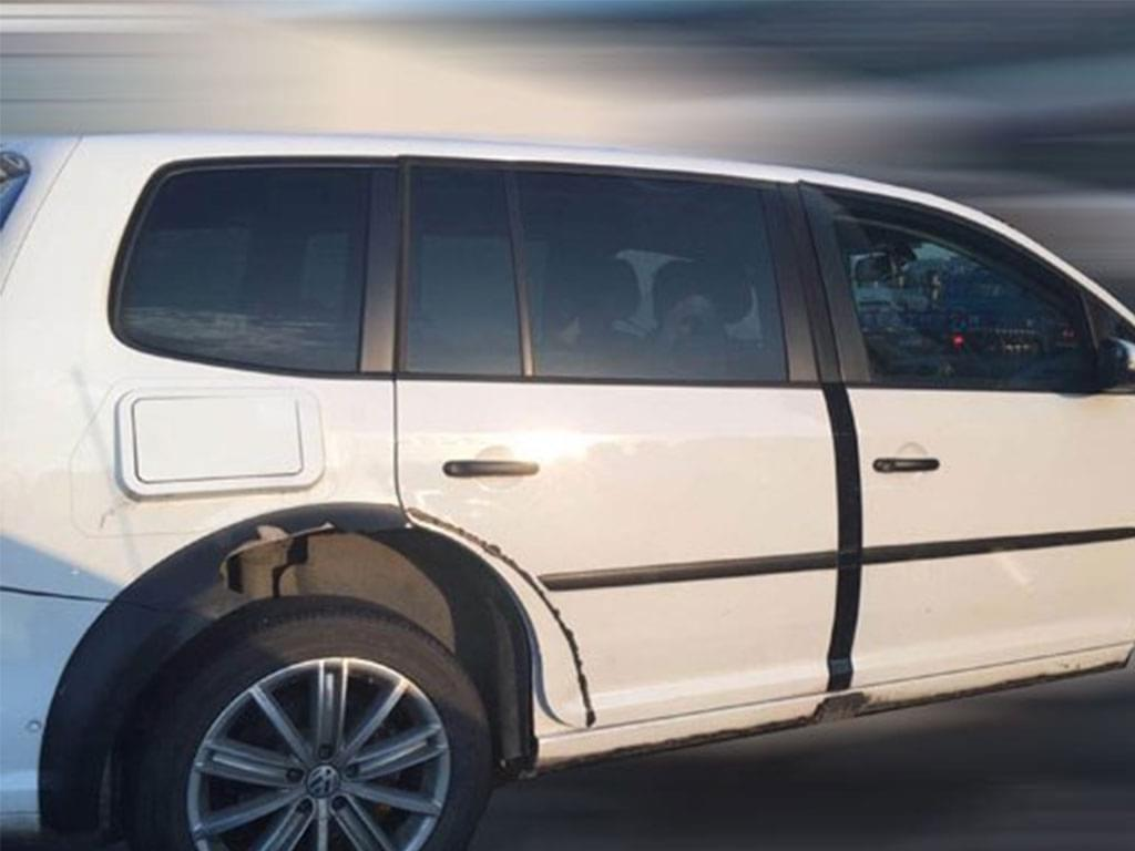 定位紧凑级 一汽-大众全新SUV套壳测试照