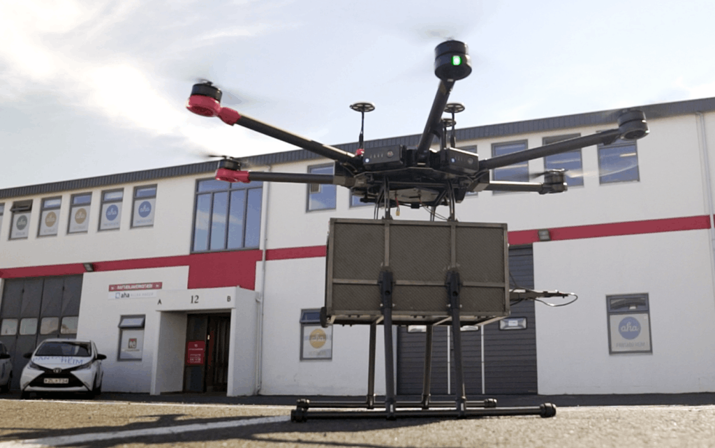 无人机送外卖在冰岛首都商用4分钟就能送货上门