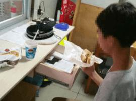 钦州一学生负气出走 饥饿难耐向交警求助