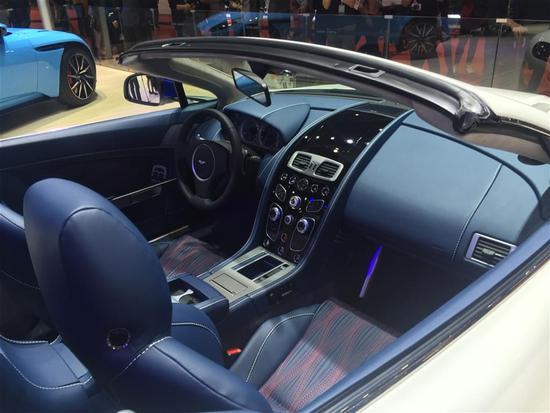 2017上海车展:阿斯顿·马丁V8 Vantage特别版