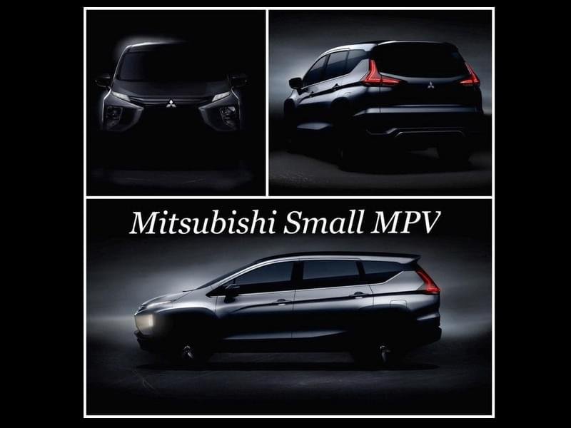 MPV也吹起跨界风 三菱汽车XM预告图发布