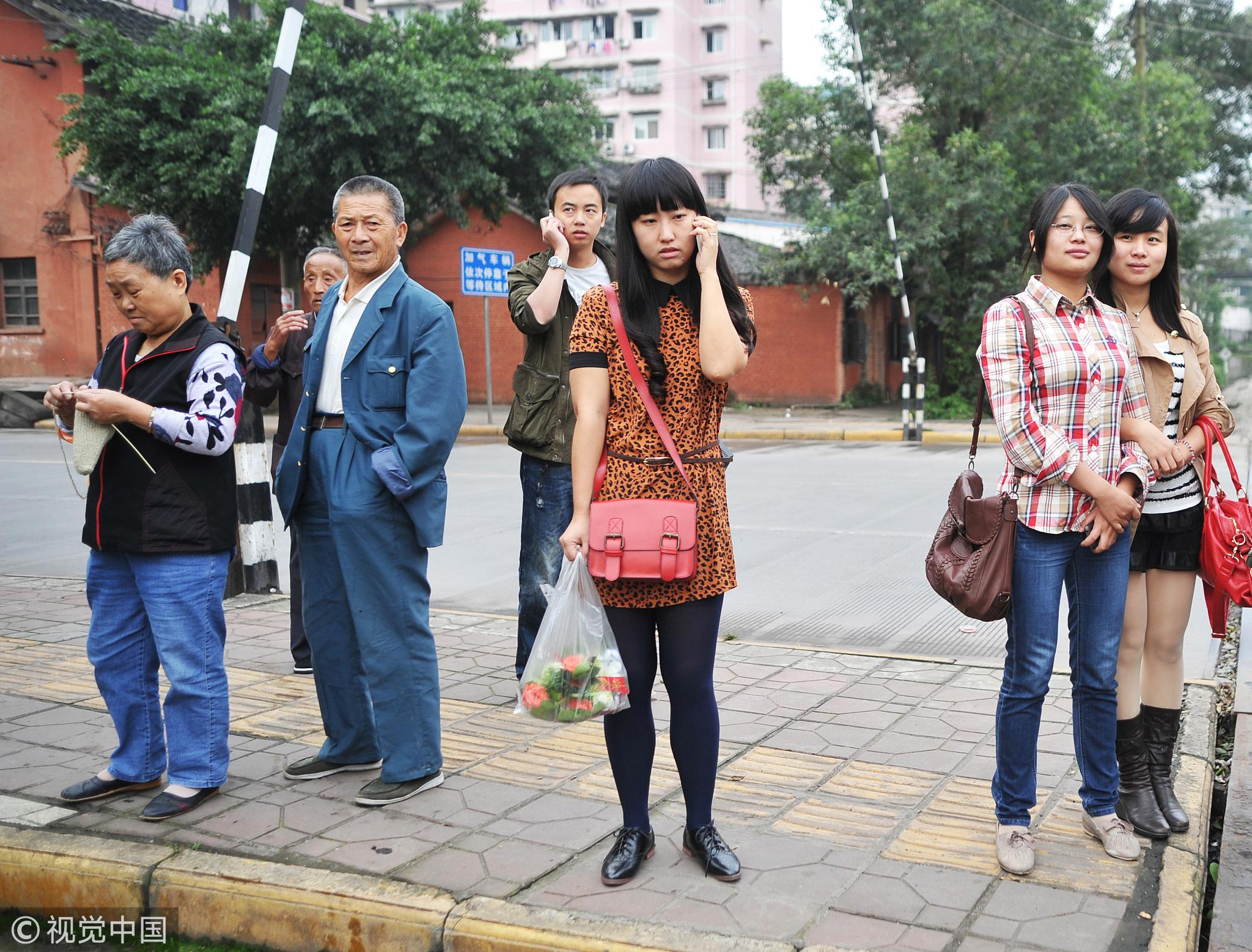 四川自贡,当地居民普通的生活/视觉中国