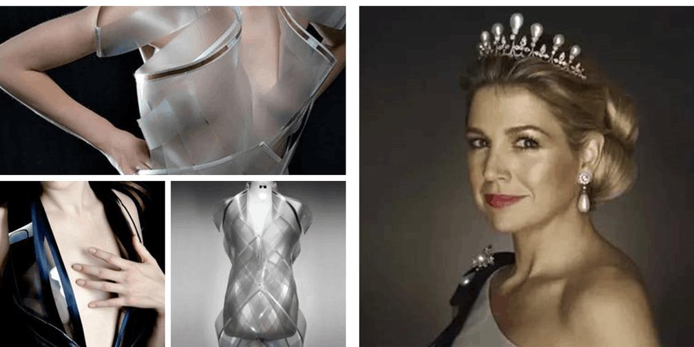 心跳加速会变透明的衣服?时尚界的新花样