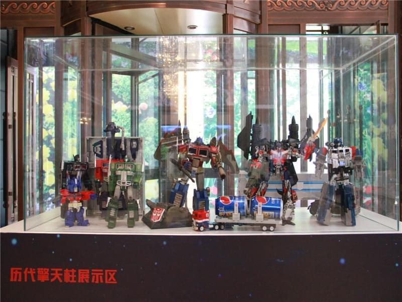 国信·中央新城售楼处变形金刚33周年展