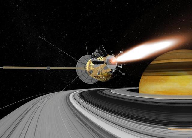卡西尼探测器即将穿越土星环,NASA又要搞大新闻