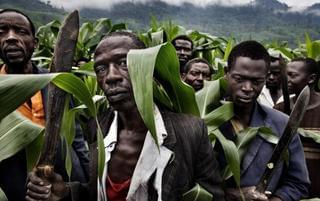 巨大的非洲难民潮