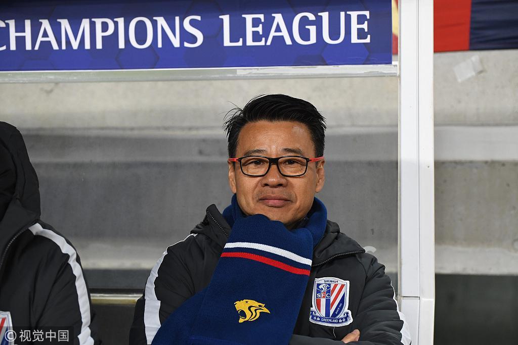 吴金贵:满意国内球员防线  拿1分已达到赛前目标