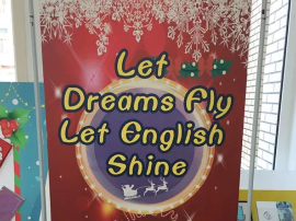 Let Dreams Fly Let English Shine