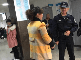 唐山某医院两女子大打出手 警察都来了!