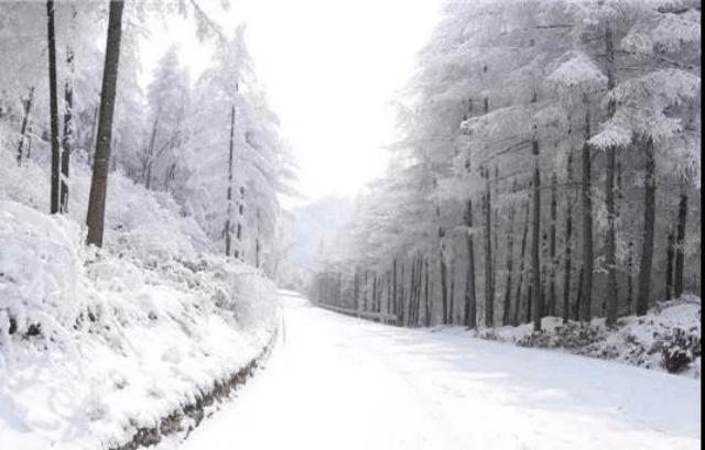 重庆奉节这个地方真的下雪啦!