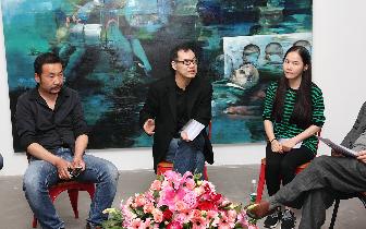 当代青年艺术家张文荣个人展在厦举行