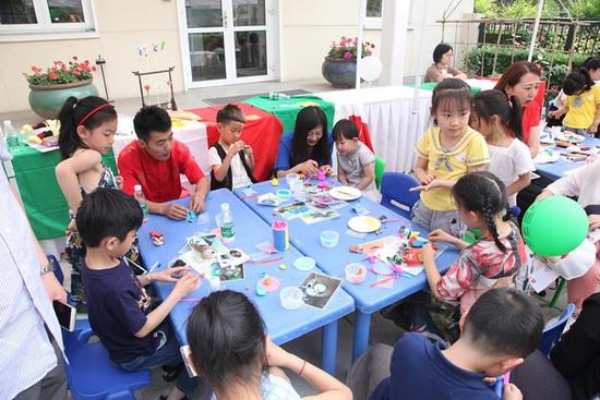 一带一路下 中意儿童携手共绘文化未来