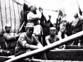 1937年八路军北上抗日 途经运城留下许多感人故事