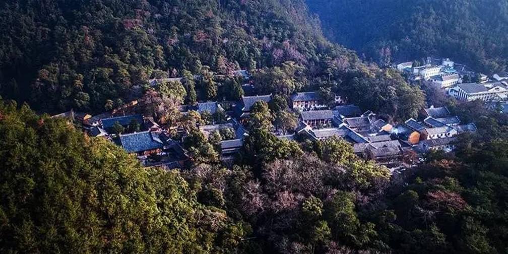 换个角度看天台国清寺