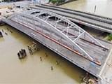 宁波灵桥预计月底通车 原定300天的工期修了三年