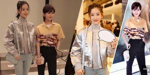 刘诗诗和章泽天罕见同框!网友:气质像姐妹