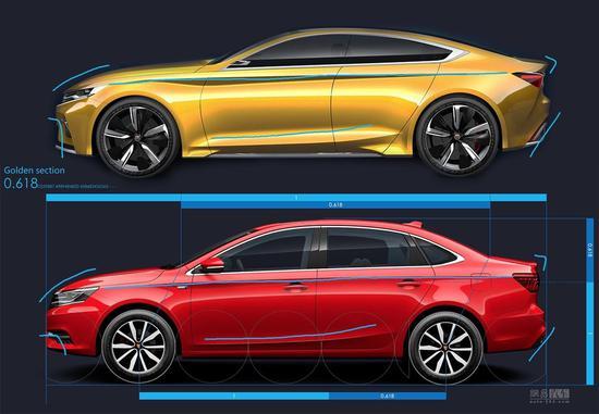 灵魂车型的新生 上汽荣威i6律动设计解析
