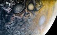 木星表面波云诡谲