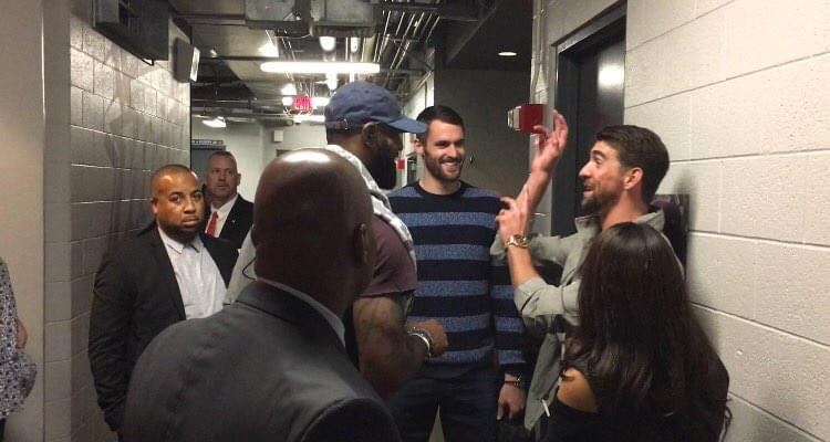 泳壇傳奇Phelps盛贊LBJ:偉大當如此 詹皇:把暴扣獻給你-Haters-黑特籃球NBA新聞影片圖片分享社區