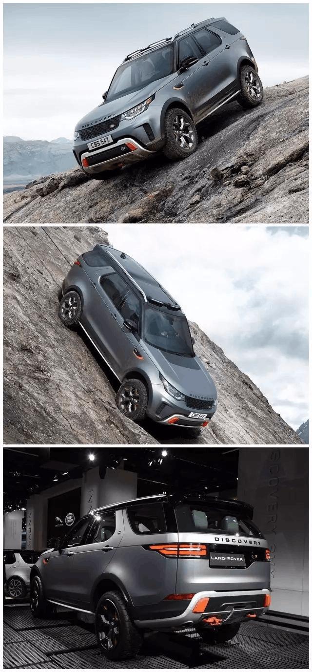 新车新看点:路虎全地形越野SUV上天遁地!