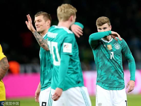 从7-1到0-1…门将2次重大失误 德国22场不败终结