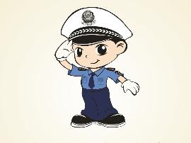 河津交警做好校车交通安全管理工作