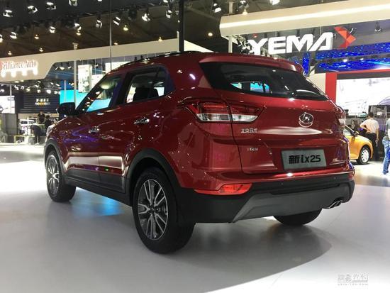 2017成都车展:北京现代新ix25 10.98万起