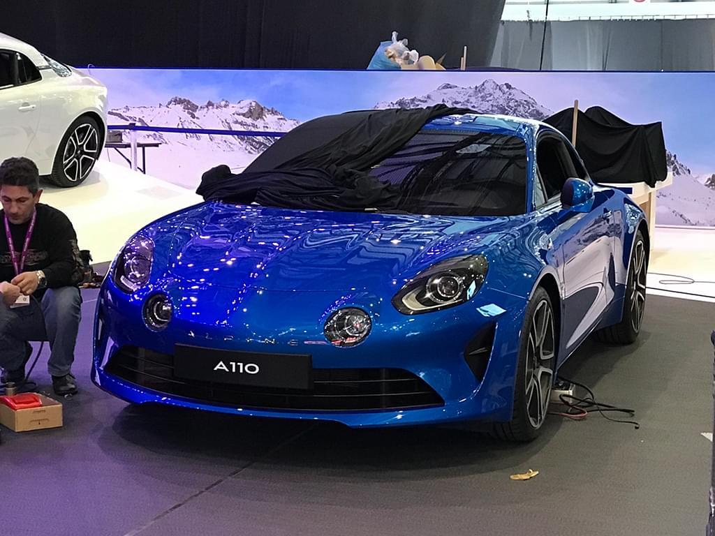 将日内瓦车展首发 Alpine A110实车曝光