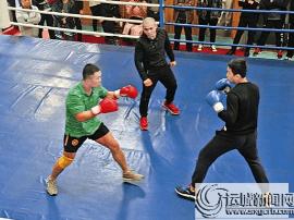 运城市拳击协会 举行第二届拳击交流赛