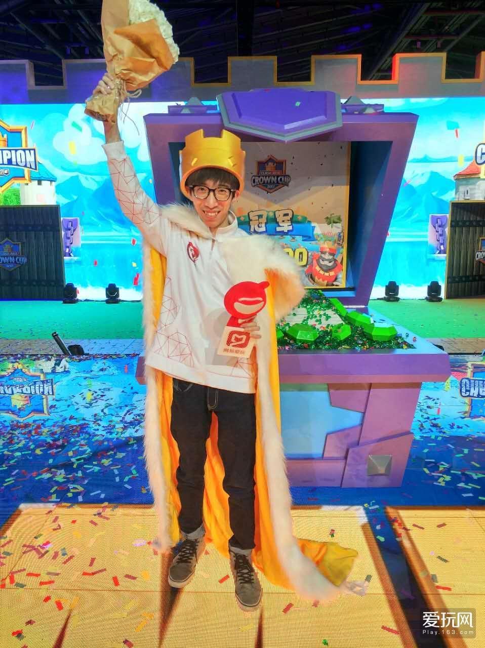 《皇室战争》亚洲杯落幕 中国选手Aaron夺冠