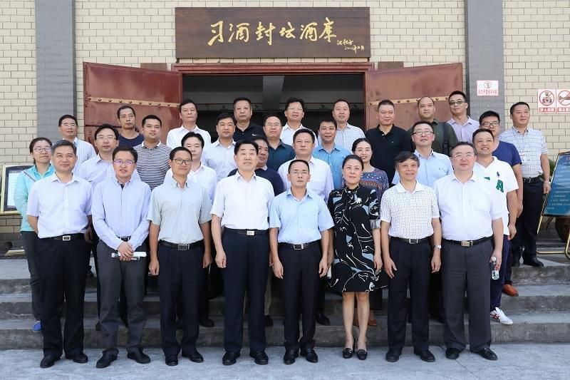 河南省人大常委会副主任刘满仓率团到习酒公司考察调研