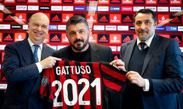 加图索在AC米兰的年薪
