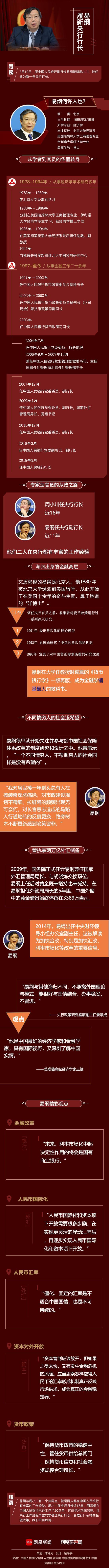 易纲任央行行长 曾高呼不同情穷人的社会没希望