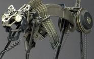 艺术家纯手工拼装机器人
