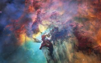 """ESA公布巨型星云照 纪念""""哈勃""""服役28周年"""