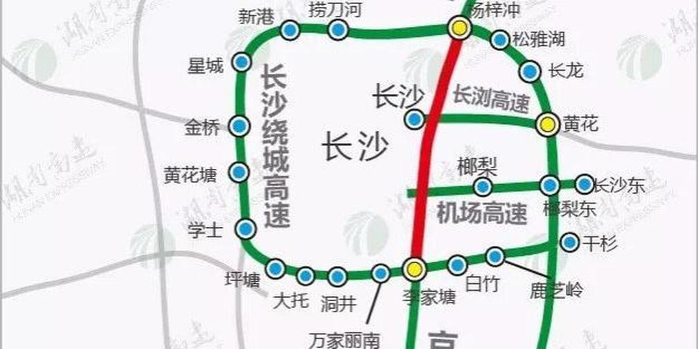 12月起,京港澳高速长沙段禁重型货车
